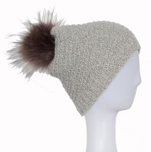 Wholesale Rib Knit Beanie,Customized Beanie with Pom pom