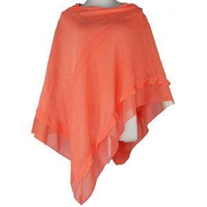 New fashion woman knit acrylic poncho ladies shawl
