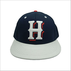 custom high quality curve brim 6 panel washer embroidery