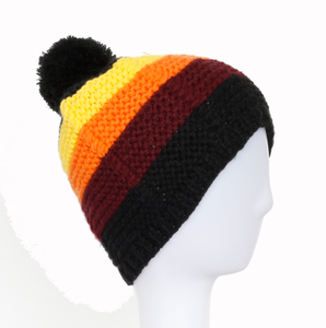 Wholesale Customized Acrylic Knitted New Beautiful Ladies Hat
