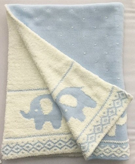 New Design Cotton Knit Baby Blanket Super Soft Jacquard Blanket for Children
