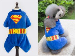 Pet Dog Products Warm Winter Clothes Jumpsuit Hoodie Costume Apparel