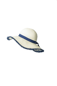 Floppy straw hat large brim sun hat women summer beach cap fedora hat