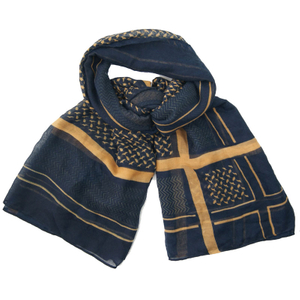 100% Polyester Customized Wholesale Lady Fashion Knitted Scarf