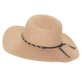 100% Straw Sun Dressed Floppy Hats Straw Hat /Cap with Special Decoration