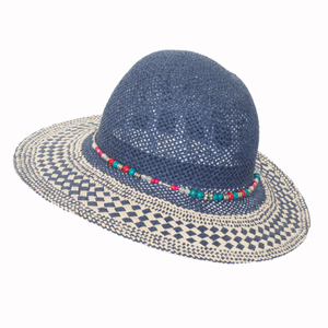 Unisex Custom Fashion Beautiful Style Paper Straw Hat Beach Sunny Straw Hat
