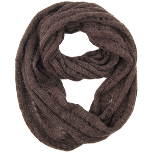 Custom Wholesale Ladies Fashion Knitted Neckwarmer Acrylic Scarf