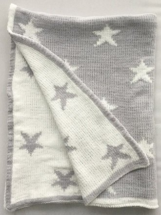 New Design Knit Baby Blanket Super Soft Jacquard Cotton Baby Blanket