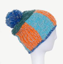 Wholesale Rib Knit Beanie,Customized Jacquard Beanie with Pom pom