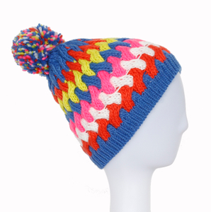 Wholesale Acrylic jacquard Custom Knitted Beanies Manufacturer