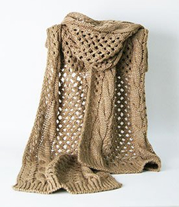 100% Acrylic Customized Wholesale Lady Fashion Knitted Scarf with Metal Yarn