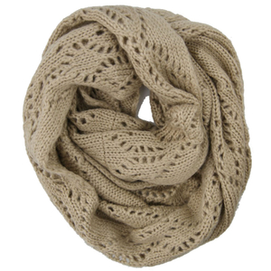 Customized Wholesale Acrylic Knitted Winter Neck Warmer, Fashion Scarf Fashion Accessory