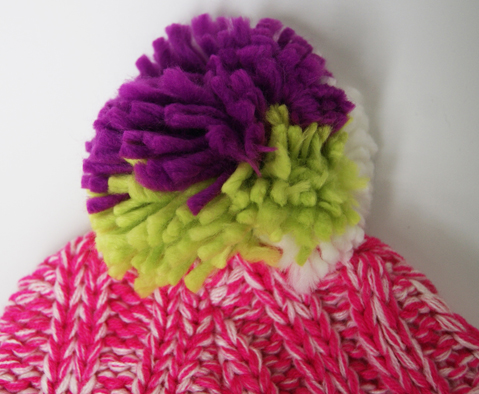Acrylic Knitted New Beautiful Ladies Hat with Ear Flaps