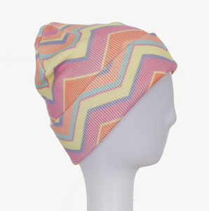Best Design Warm Acrylic Beanies Knitted Cap Sublimation Hats